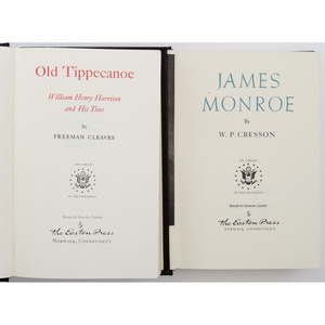 Biographies of James Monroe and W.H. Harrison DUPLICATE