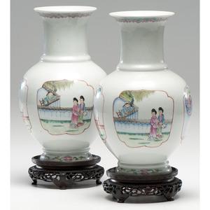 Late Republic Porcelain Vases