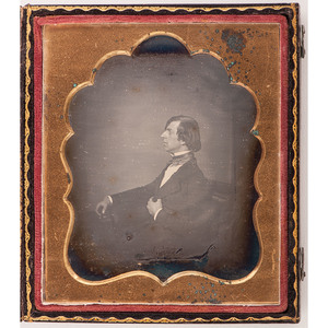 Sixth Plate Daguerreotype of a Snooty Gentleman