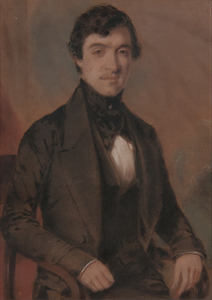19th Century Pastel Portrait of a Gentleman