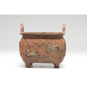 Archaic Chinese Iron Censor