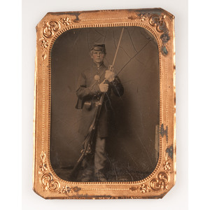 Images of Armed Union Soldiers