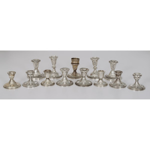 Sterling Weighted Candle Holders