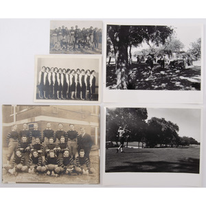 Collection of Photographs of Recreational Activities, Including Bowling, Chess, and Golf
