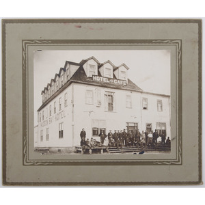 Photographs of Early Street Scenes and Businesses, Featuring Springfield, Mass. Photo Studio