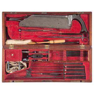 Fine and Extensive Civil War-Era Surgical and Amputation Kit
