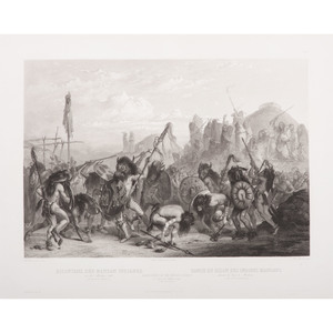 Karl Bodmer (Swiss, 1809-1893) Lithograph on Paper