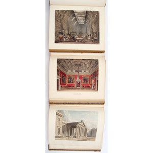 [Illustrated - Architecture - English Royalty - Color Plate] Beautiful Set of Pyne's,