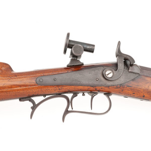 Percussion Turner Style Rifle By W.L.Hudson