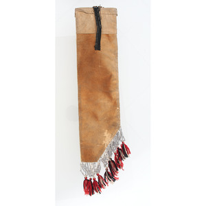 Anishinaabe Beaded Hide Strip