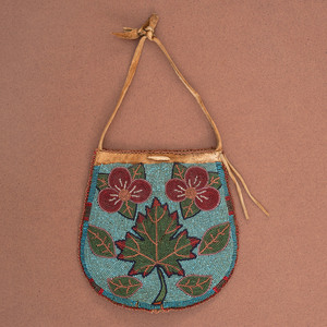 Great Lakes Pictorial Hide Pouch