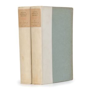 [Americana - Biography]  Life and Letters of Oliver Wendell Holmes (1841-1935) by Morse, 1896 - #236 of 275 Limited Edition with ANs