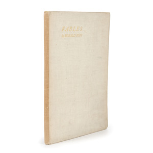 [Literature - Inscribed - Association Copy]   Fables by Ronald Ross - Inscribed by Nobel Laureate to English Artist William Blake Richmond Who Influenced Arts & Crafts Movement
