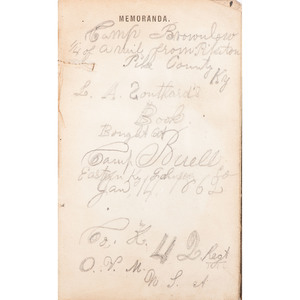 Leonard A. Southard, 42nd Ohio Infantry, DOD, Civil War Diary