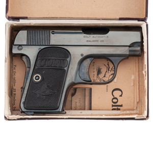 ** Colt 1908 Pocket Automatic with Box