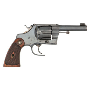 ** Colt Army Special Revolver With Fitz Custom Frame And Triggerguard
