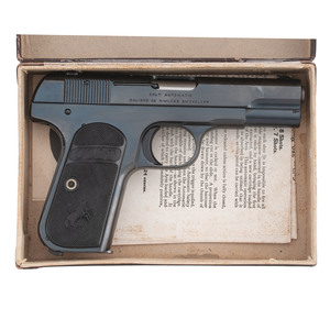 ** Colt 1903 Hammerless Pocket Automatic with Box
