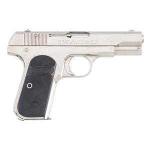 ** Colt 1903 Hammerless Pocket Automatic