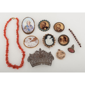 Collection of Vintage and Antique Jewelry