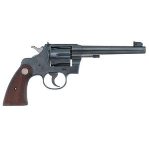 ** Colt Officers Model Target Revolver