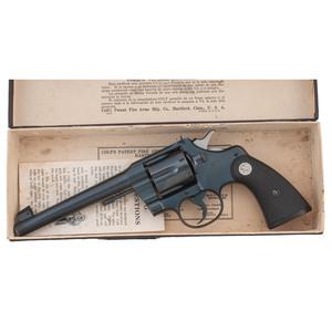** Colt Officers Model Heavy Barrel Target Revolver
