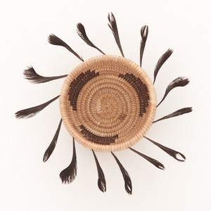 Pomo Trinket Basket, Attributed to Rose Anderson