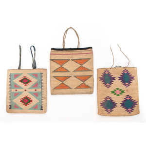 Plateau Cornhusk Flat Bags, From a Montana Collection
