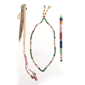 Collection of Sioux Beaded Items
