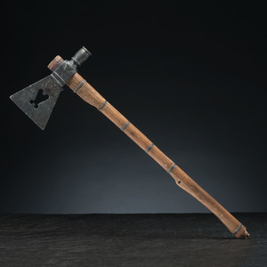 Plains Pipe Tomahawk with Steatite Head