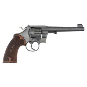 ** Colt Officer's Model Heavy Barrel Revolver