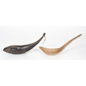 Plateau Buffalo and Sheep Horn Spoons