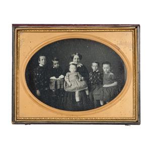 Masterpiece Full Plate Daguerreotype by Germon