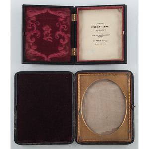 Two Scarce Photograph Cases, Including One by Whipple