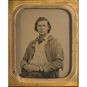 Ambrotype of a California Frontiersman by Vance,