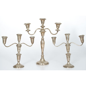 Sterling Weighted Candelabra
