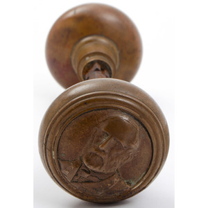 Scarce Robert E. Lee Doorknob Set