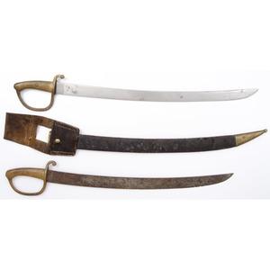 Lot of Two Foot Swords