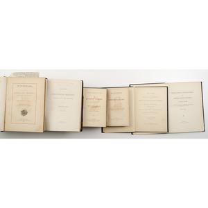 [Civil War - Regimental/Battle Histories - Connecticut] Group of Six Titles, 10th and 14th Regiments; Annals of Norwich; Biog. Major Camp; Andersonville Prison, etc.