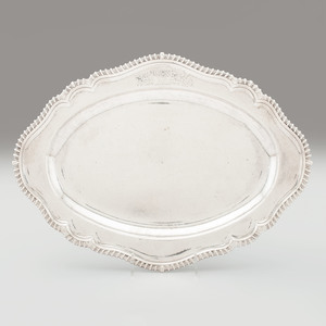 John Bache Sterling Serving Tray