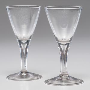 Early Blown Glass Goblets