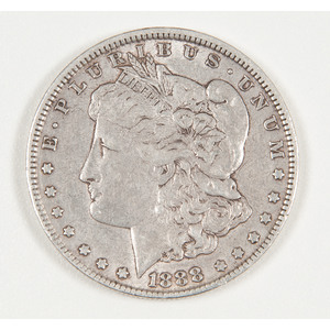 United States Morgan Silver Dollar 1888-O