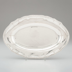 Georgian Sterling Serving Bowl, Thomas Heming