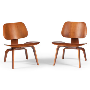 Charles Eames DCW Plywood Chairs