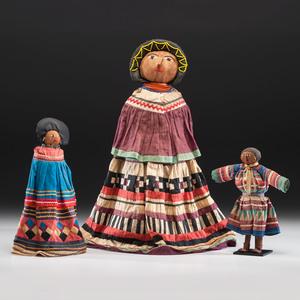 A Family of Seminole Dolls