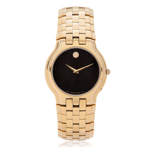 Movado Celestina 35 mm Museum Dial Wrist Watch