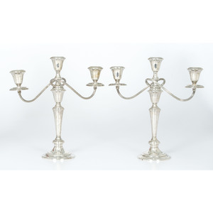 Gorham Sterling Weighted Candelabra