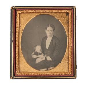 Five Postmortem Daguerreotypes of Parents and Children