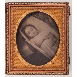 A Fine 1857 Postmortem Daguerreotype