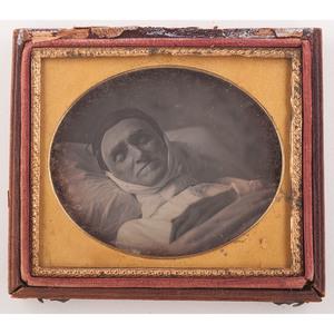 Five Postmortem Daguerreotypes of Men