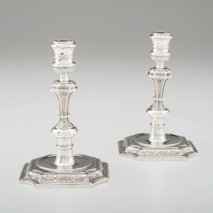 Silver Candlesticks, Possibly English